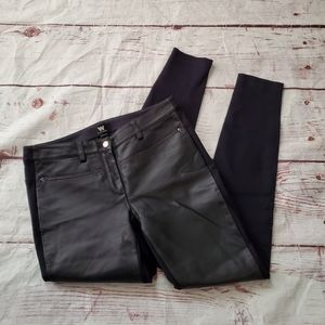 W by Worth Leather Front Pants